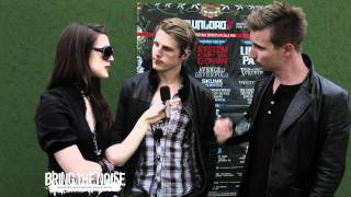 Bring The Noise UK - Royal Republic Interviewed at Download Festival 2011