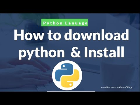 Python Tutorial | How to download python and install on windows 10,8,7. thumbnail