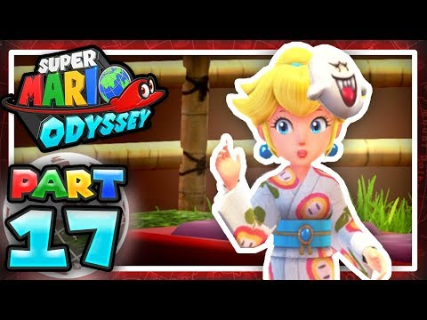 Super Mario Odyssey: Part 17 - Peach Travels The World! 100% (Let's Play)