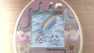 Tamagotchi Meets Sweets #16 [メモ] ・幼児期は約2分半でおなかメーターが1減る ・幼児期は約6分感覚で  をする ・幼児期に愛情、おなかメーターをMA...
