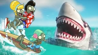 Plants vs Zombies 2 vs Hungry Shark World Official 3D Animation Trailer!