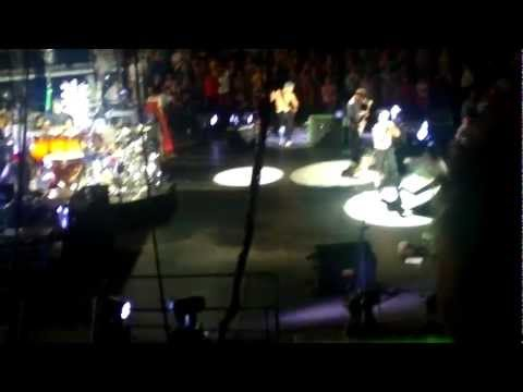 Red Hot Chili Peppers show in Lithuania 2012-07-28 Part I