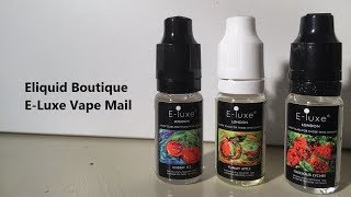 Eliquid Botique E Luxe Vape Mail