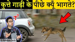 Download song कुत्ते गाड़ी के पीछे क्यूँ भागते हैं? 25 Most Amazing Facts in Hindi | TFS EP 33