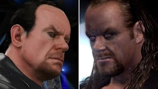 WWE 2K17 vs SVR 2007 - 10 Years Apart... 10 Years Difference?