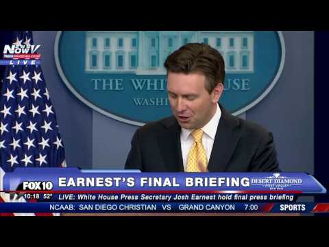 Josh Earnest FINAL White House Press Briefing - President Obama To Visit - BREAKING NEWS