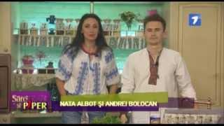 Sare si Piper ! JurnalTV (Elena Chichicea, Dumitru Voloșin , Peeno)
