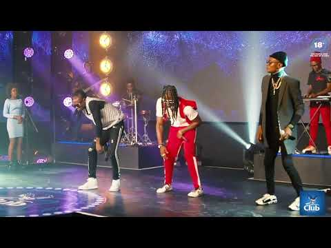Jose Chameleone, Weasel and Pallaso on Club Beatz at Home