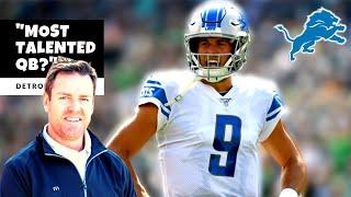 Matthew Stafford MOST TALENTED QB?! Carson Palmer Praises Stafford! Detroit Lions Talk