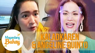 Angeline offers to sing for KaladKaren and Luke's wedding | Magandang Buhay