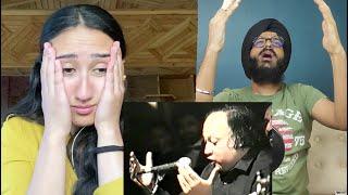 Indian Reaction to Tum Ek Gorakh Dhanda Ho | Ustad Nusrat Fateh Ali Khan | Raula Pao