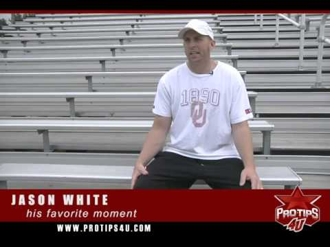 Jason White talks to ProTips4U about one of his his favorite on-field memories