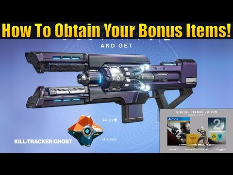 Destiny 2 - How To Get Pre-order & Special Edition Content! (Legendary Sword, Emote, Ghost & More)