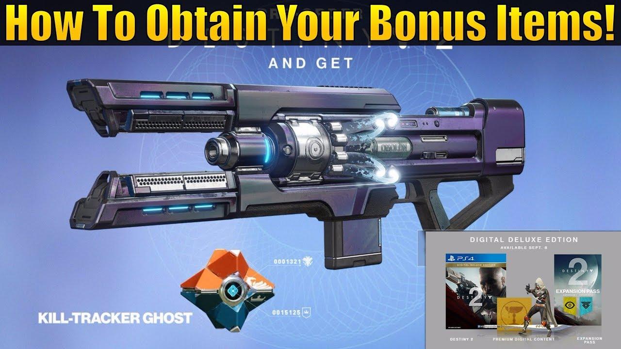 8b97c8050bc Destiny 2 - How To Get Pre-order   Special Edition Content! (Legendary  Sword