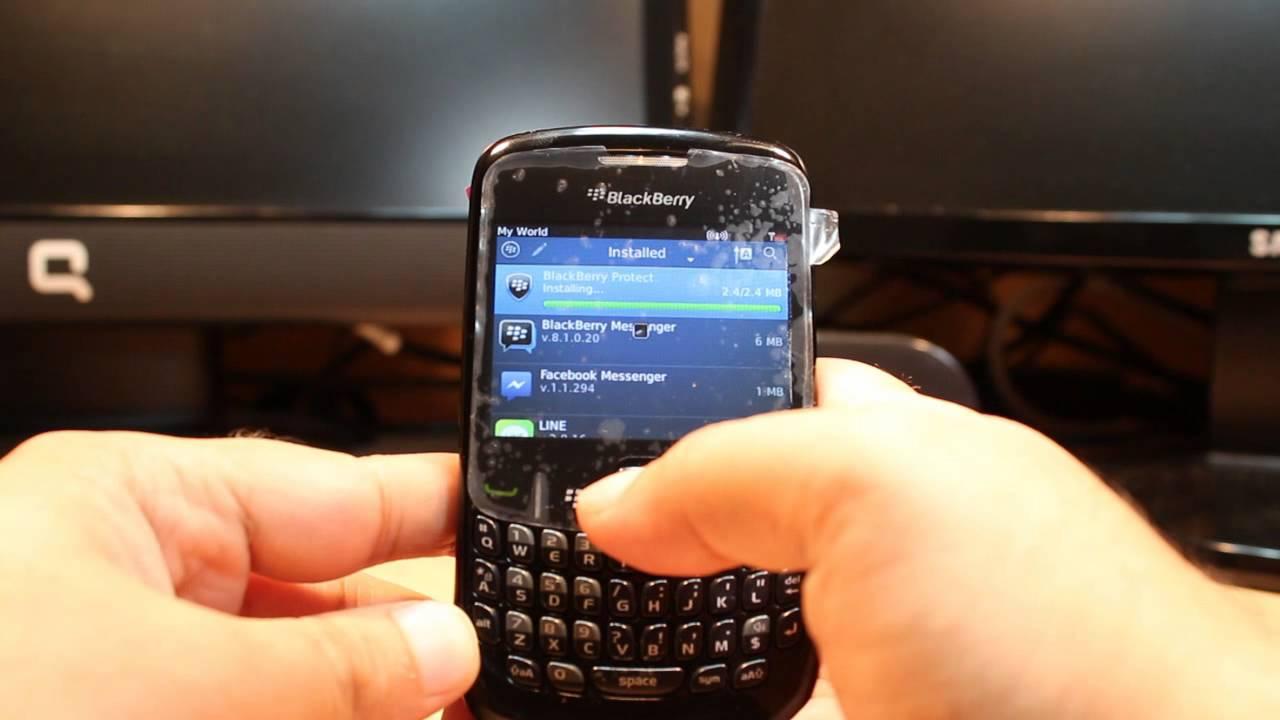 Funciones en tu BlackBerry 9320 Curve