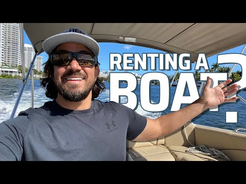 THIS WAS TOO EASY!! RENTING A BOAT