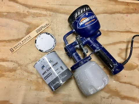 Using a Home Right Paint Sprayer with Chalk Paint®