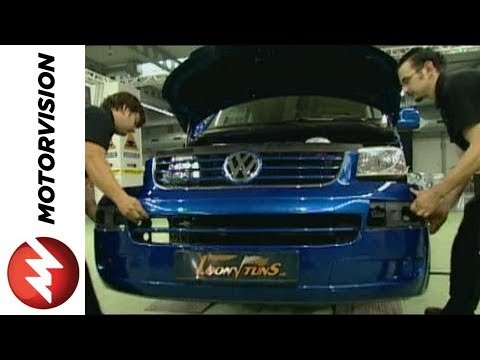 VW T5 Conversion Part 1