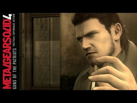 """Metal Gear Solid 4 Guns of the Patriots - Part 14: """"Young"""" Snake?"""