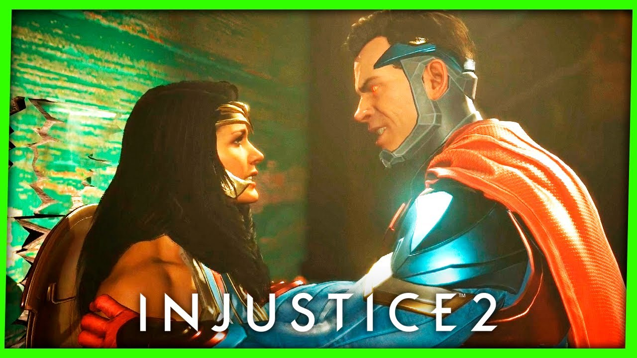 Injustice 2 CAPÍTULO #8 MULHER MARAVILHA - DEUSA DA GUERRA Gameplay Dublado PS4