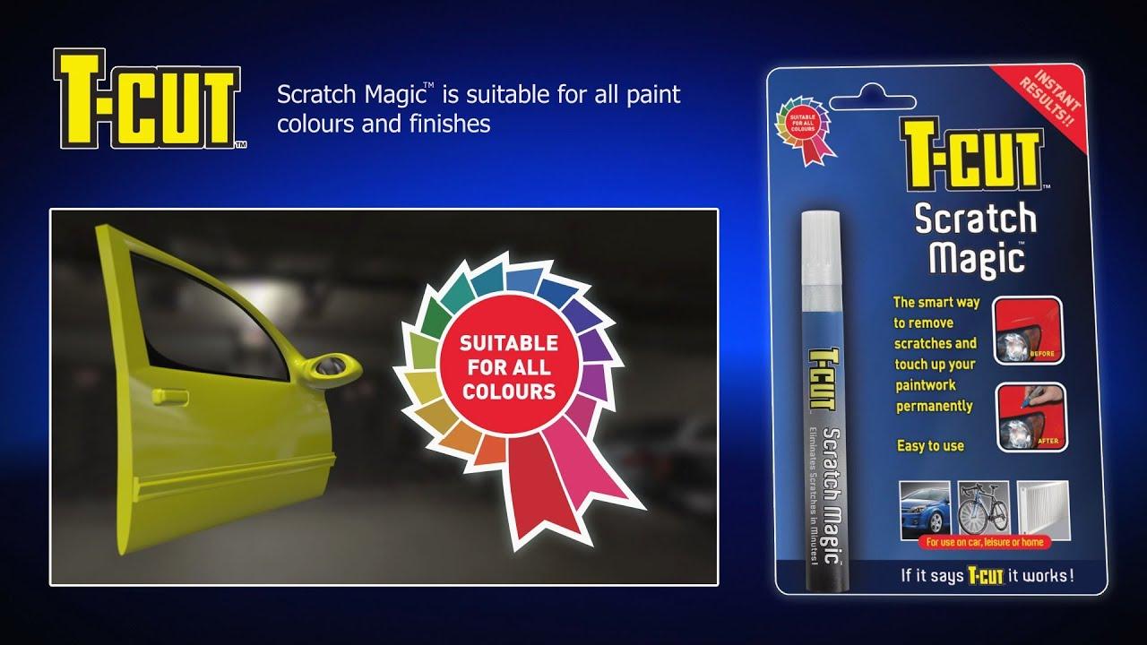 Color magic car polish silver - T Cut Scratch Magic Pen