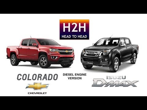 H2h 26 Isuzu D Max Vs Chevy Colorado Diesel Engine Version Youtube