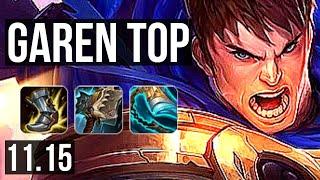 GAREN vs JAX (TOP) | Rank 1 Garen, 10/1/5, Godlike | NA Challenger | v11.15