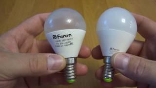 Светодиодные лампочки Feron. НЕ ПОКУПАТЬ!!!