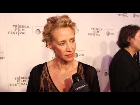 Janet McTeer: THE EXCEPTION red carpet - 2017 Tribeca Film Festival - Meniscus Magazine