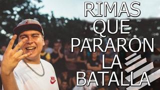 RIMAS MAS GRITADAS DEL QUINTO ESCALON Y QUE PARARON LA BATALLA thumbnail