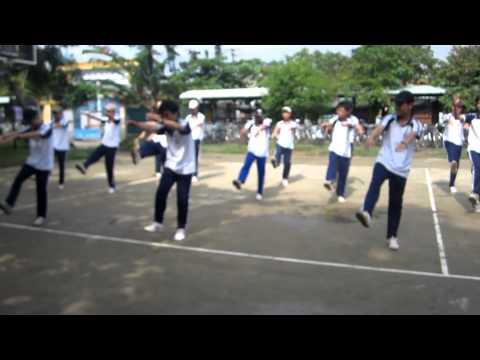 Bài thể dục liên hoàn 50 động tác nam lớp 11