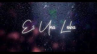 Anthony Santos - Es Una Loba (Video Lyric Oficial)
