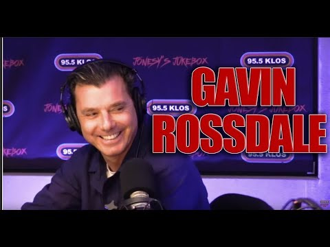 Gavin Rossdale instudio on Jonesy's Jukebox