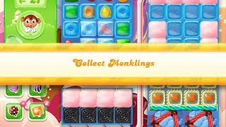 Candy Crush Jelly Saga Level 868 (2 Wrapped Lollipop boosters used)