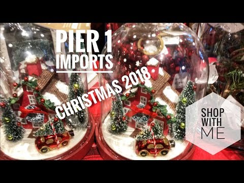 new pier 1 imports 2018 christmas shop with me