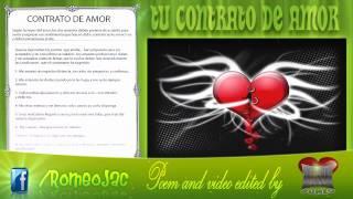 Tu Contrato de Amor (Poema)