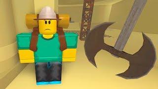 Побег из ПИРАМИДЫ в ROBLOX! Челлендж выживание в Роблокс игры для детей
