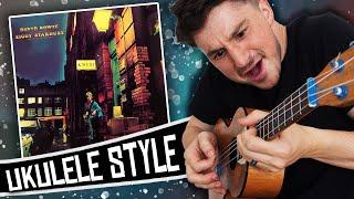 [ David Bowie ] Ziggy Stardust - Album Medley on Ukulele!