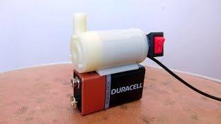 Mini Su Motoru İle Evde Şelale Nasıl Yapılır - How to Make a Tabletop Waterfall - DC Water Pomp