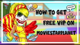 HOW TO GET FREE VIP ON MOVIESTARPLANET!