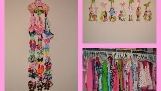 Natalie Summer Wardrobe Closet Tour - 12 to 18 months!