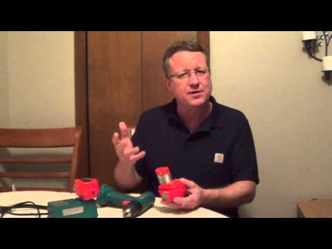 How to Store Power Tool Batteries - How to Extend Battery Life
