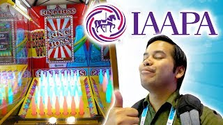 NEW chocolate claw machine and arcade games at IAAPA 2018!