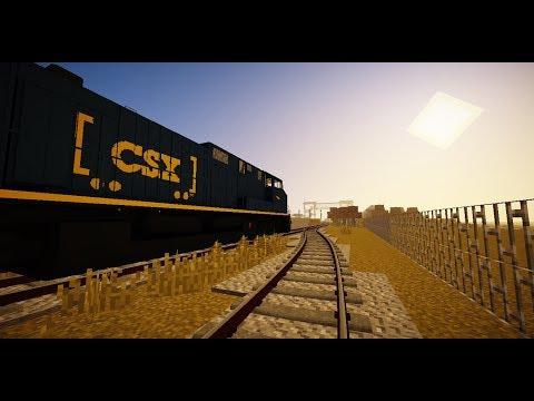 Minecraft Immersive Railroading | Riverdale Grain Shipment