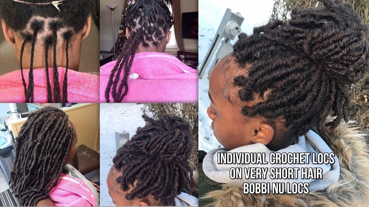 Bobbi Boss Nu Locs Individual No Cornrow Crochet Faux Locs