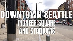 Downtown Seattle, Pioneer Square to T-Mobile Park 2019   Virtual Walking Tour   4K 60ᶠᵖˢ   City