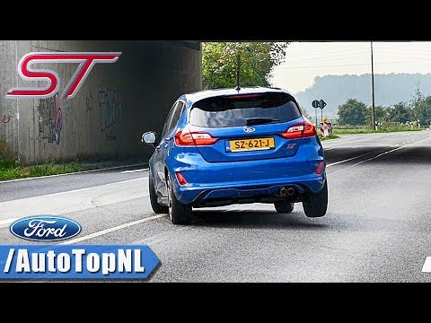 FORD FIESTA ST 2019 | EXHAUST Sound REVS & ONBOARD on AUTOBAHN by AutoTopNL