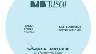 Newcleus -  Jam On It (Martin Brodin Remix)