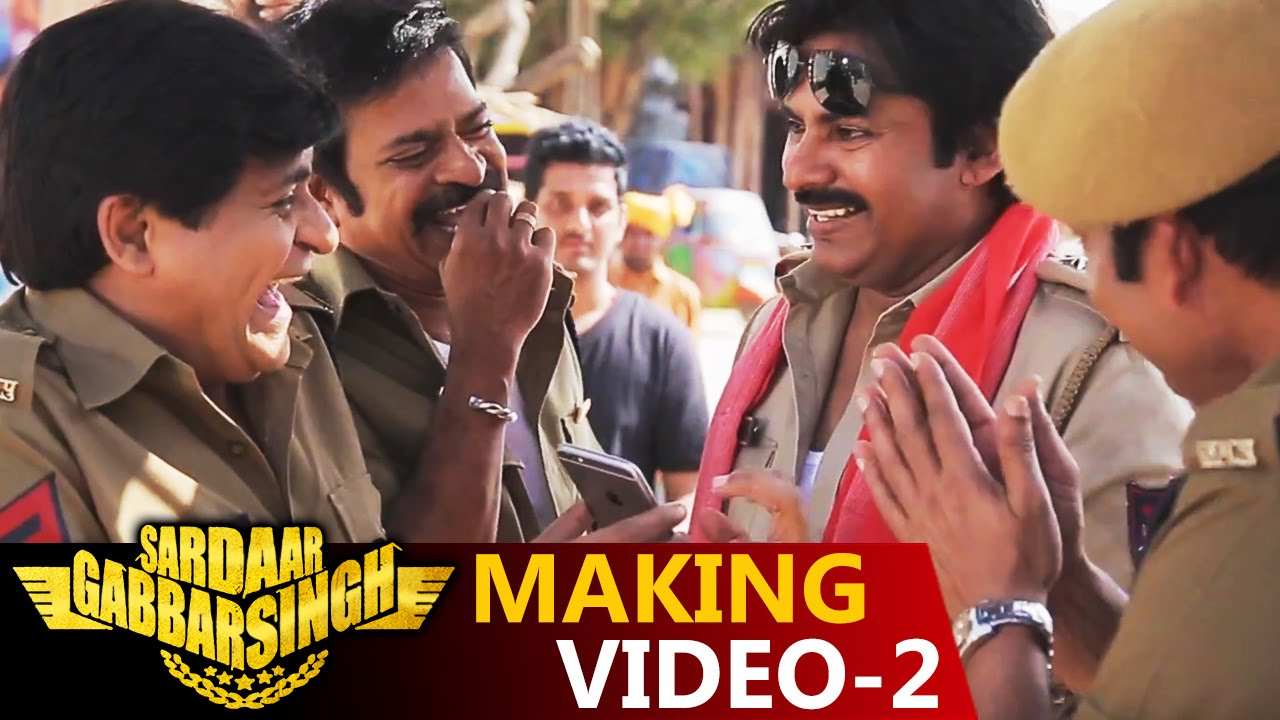 Sardaar Gabbar Singh Making Video – 2 || Power Star Pawan Kalyan ||