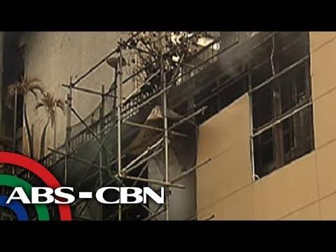 TV Patrol: Sunog sa Manila Pavilion, iniimbestigahan na